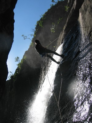 Canyoning Grand mère